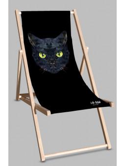 Leżak Black Kot