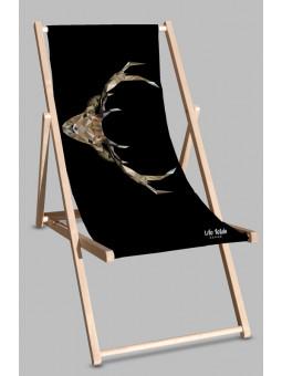 Leżak Black Jeleń