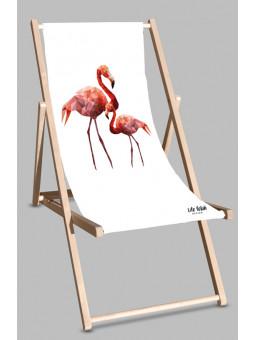 Leżak Flamingi