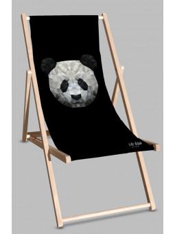 Leżak Black Panda