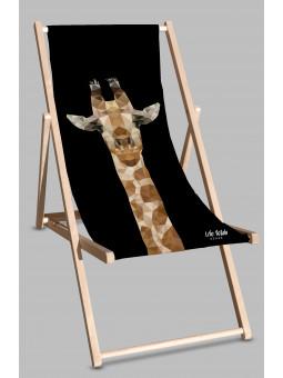 Leżak Black Żyrafa