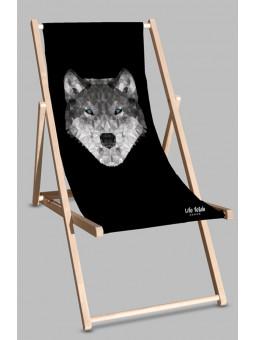 Leżak Black Wilk