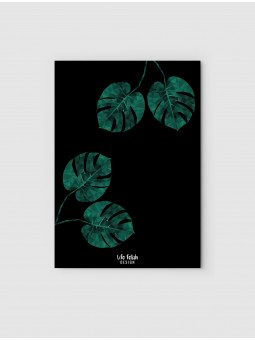 Monstera 3 Black
