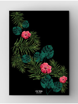 Tropical Design Black