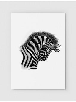 Rysowana zebra