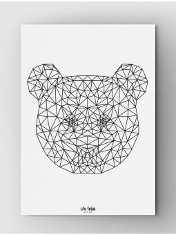 Panda Outline A3