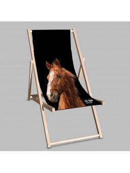 Leżak Black Koń