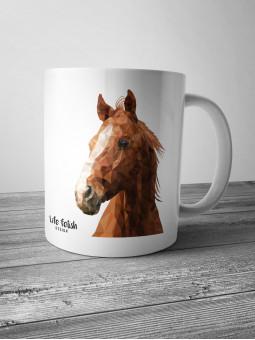 Kubek z koniem DUŻY