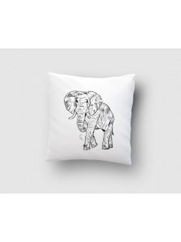 Słoń rysowany