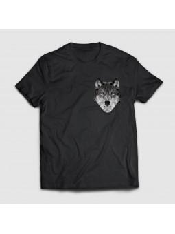 Koszulka z wilkiem
