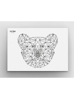 Niedźwiedź Outline A4