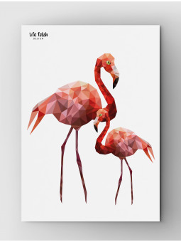 Flamingi Wild A3