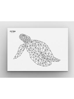 Żółw Outline A4