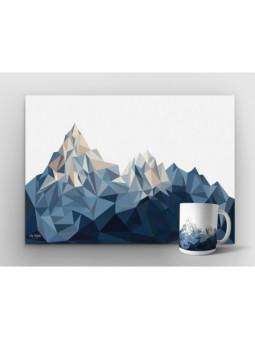 Zestaw Góry | plakat + kubek