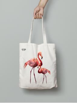 Torba z flamingami