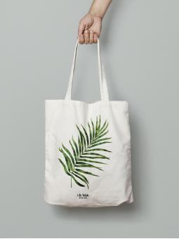Torba z liściem palmy