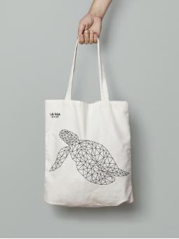 Torba z żółwiem outline