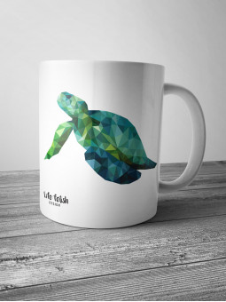 Kubek z żółwiem DUŻY