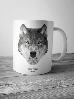 Kubek z wilkiem DUŻY